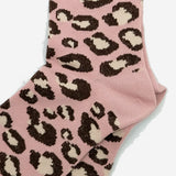 Animal Crew Socks - Pink