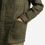 Arbroath Shirt Jacket - Green Patchwork