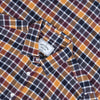 Autumn Shades Check Flannel Shirt - Yellow/Maroon