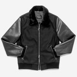 Outclass Attire - Aviator Jacket - Black
