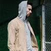 Outclass Attire - Water Repellent Bomber Jacket - Sand