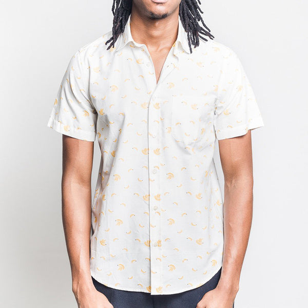 Portuguese Flannel - Bananas Short-Sleeve Shirt