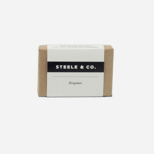 Steele & Co. - Bar Soap - Bergamot