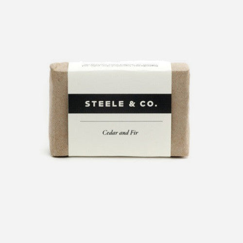 Steele & Co. - Bar Soap - Cedar & Fir