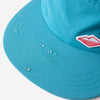 Travel 5-Panel Cap - Teal Nylon