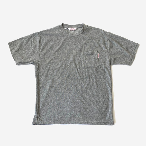 Beach Tee - Cotton/Terry Heather Grey