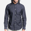 Portuguese Flannel - Belavista Long-Sleeve Oxford Shirt - Black