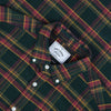 Billiard Check Plaid Flannel Shirt - Forest Green