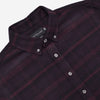 Outclass Attire - Blanket Flannel Shirt - Maroon Plaid