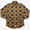 Outclass Attire - Blanket Flannel Shirt - Yellow Patchwork