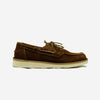 Boatflex Suede Moccasin Boat Shoes - Mattone (Brick)