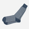Anonymous Ism - Broken Line Crew Socks - Indigo