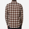 Portuguese Flannel - Brownie Plaid Flannel Shirt - Brown/Cream