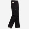 Outclass Attire - Brushed Twill Expedition Cargo Pants - Black