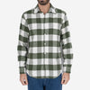 Buffalo Square Check Flannel Shirt - Green