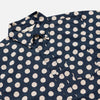 3Sixteen - Button-Down Short-Sleeve Shirt - Jumbo Polka Dot