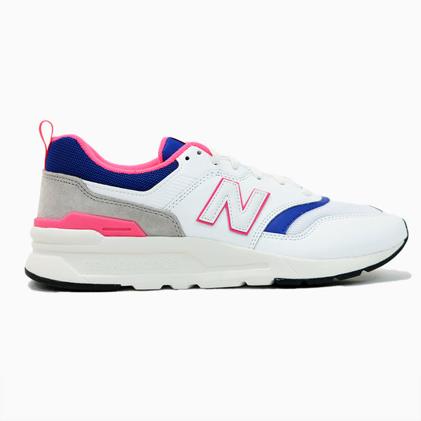 New Balance - 997HAJ - White/Pink-Blue