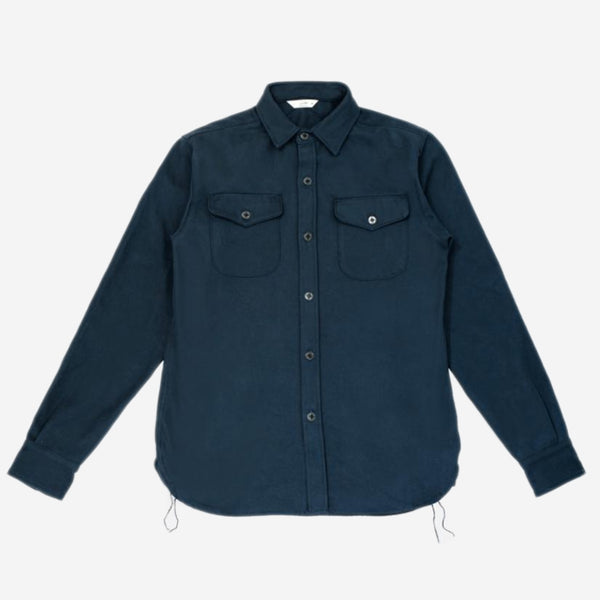 3Sixteen - CPO Shirt - Heavyweight Navy Twill