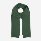 Merino Wool Scarf - Emerald Green