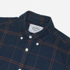 Portuguese Flannel - Cana Long-Sleeve Shirt - Navy Plaid