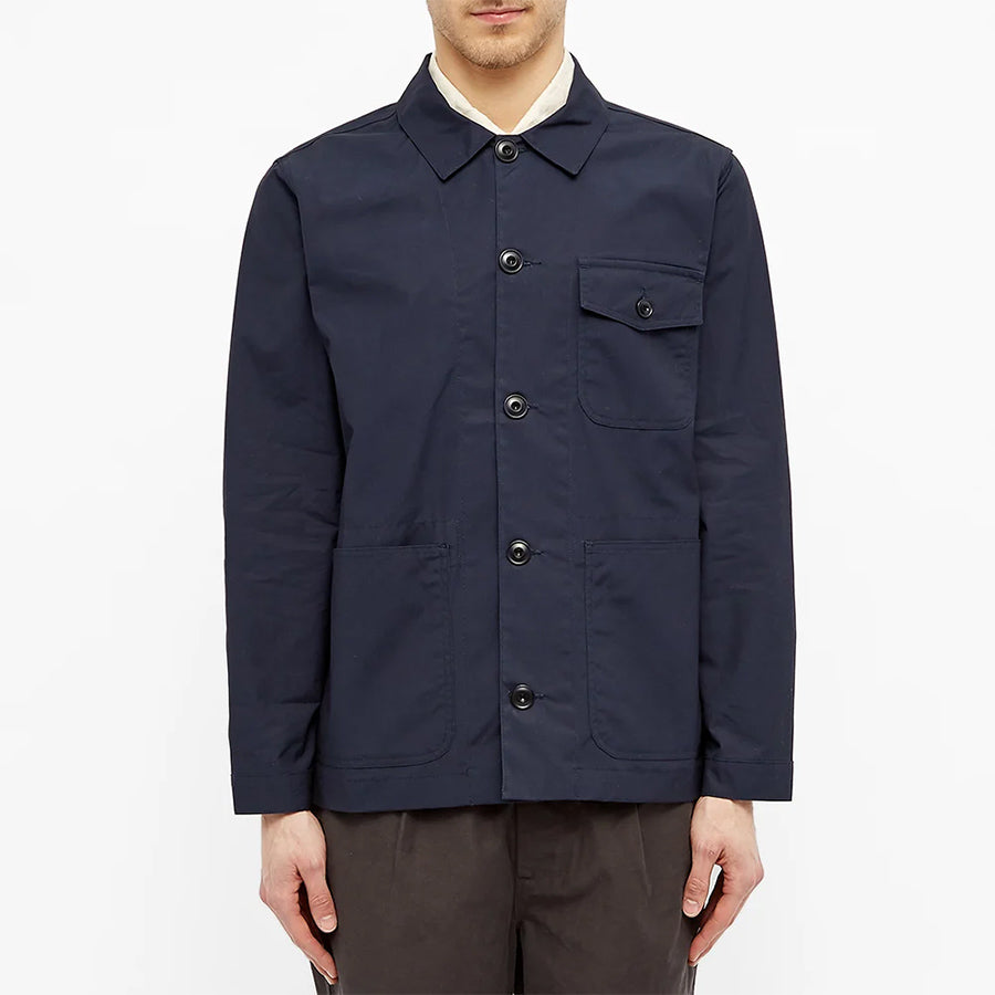 Albam - Canvas Rail Jacket - Navy
