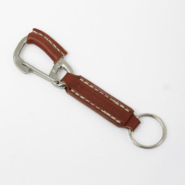 DW Leatherworks - Carabiner Key Hook Type 2 - Chestnut
