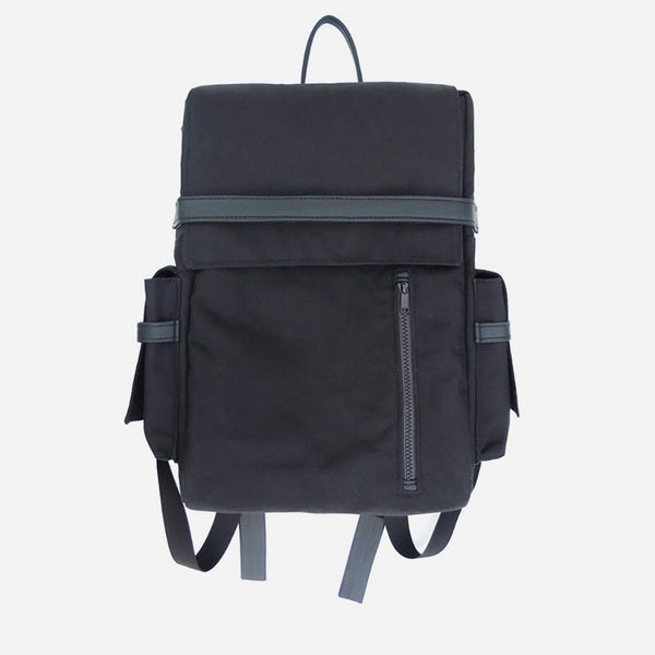 Woolfell - Cargo Backpack - Black