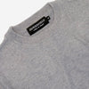 Dangerfield - Cashmere/Wool Crewneck Sweater - Speckle Grey