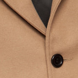 Dangerfield - Cashmere/Wool Overcoat - Camel