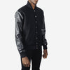 Dangerfield - Cashmere/Wool Varsity Jacket - Black