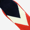 Anonymous Ism - Chevron Crew Socks - Red