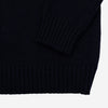 Country Of Origin - Chordata Lambswool Sweater - Dark Navy