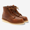 Classic Moc 6-Inch Leather Boots - Copper Rough & Tough