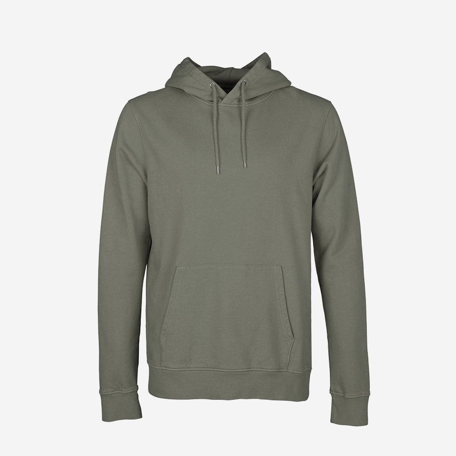Classic Organic Hoodie - Dusty Olive