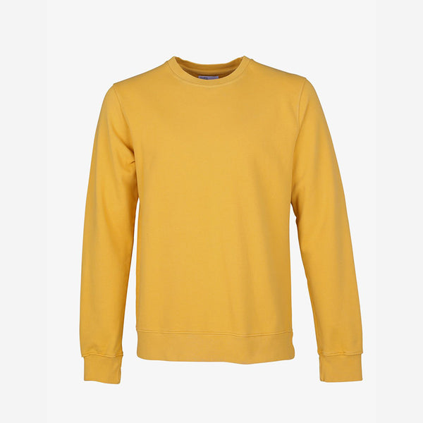 Colorful Standard - Classic Organic Crew Sweatshirt - Burned Yellow