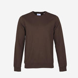 Colorful Standard - Classic Organic Crew Sweatshirt - Coffee Brown