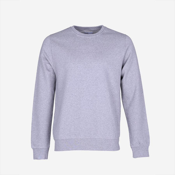 Colorful Standard - Classic Organic Crew Sweatshirt - Heather Grey