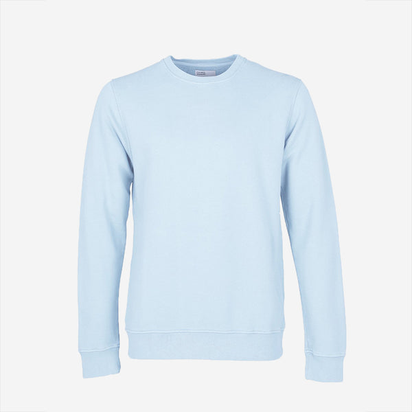 Colorful Standard - Classic Organic Crew Sweatshirt - Polar Blue