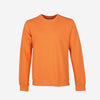Colorful Standard - Classic Organic Crew Sweatshirt - Sunny Orange