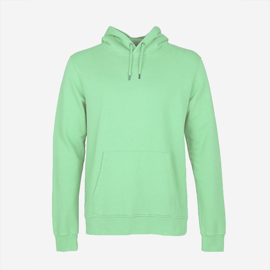 Colorful Standard - Classic Organic Crew Hoodie - Faded Mint