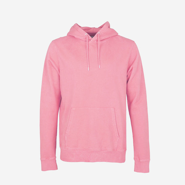 Colorful Standard - Classic Organic Hoodie - Flamingo Pink