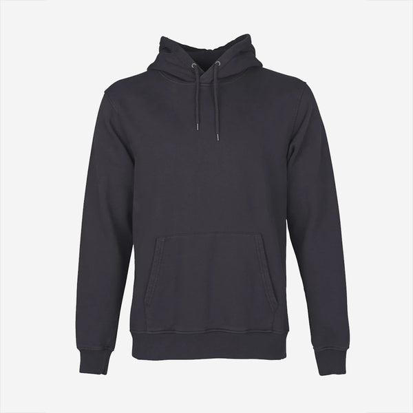 Colorful Standard - Classic Organic Crew Hoodie - Lava Grey