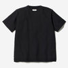 Co/Pe Dry Pullover Knit T-Shirt - Black