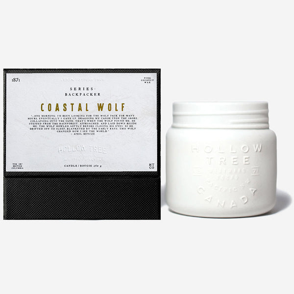 Hollow Tree - Backpacker - Coastal Wolf Candle