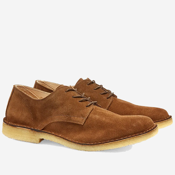 Astorflex - Coastflex Suede Derby Shoe - Dark Khaki