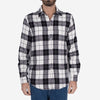 Colorado Plaid Flannel Shirt - Black/White