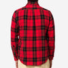 Portuguese Flannel - Colorado Plaid Flannel Shirt - Red/Black