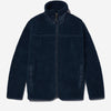 Albam - Combat Curly Fleece Jacket - Navy