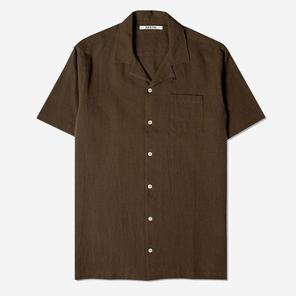 Kestin Hare - Crammond Vacation Shirt - Olive