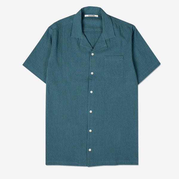Kestin Hare - Crammond Vacation Shirt - Teal
